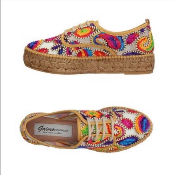 Gaimo Shoes   Gaimo Multicolor Velvet